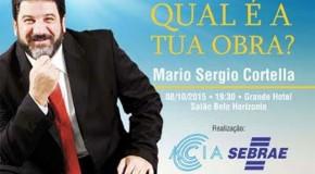 Araxá recebe palestra com filosofo Mário Sergio Cortella