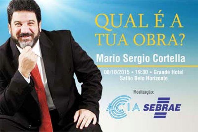 Super Minas no Foco – Araxá recebe palestra com filosofo Mário Sergio  IA95