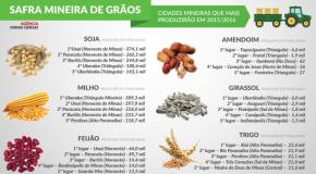 Soja e milho favorecem possibilidade de recorde da safra em Minas Gerais
