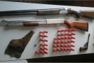 Armas de fogo são apreendidas em fazenda do município de Perdizes