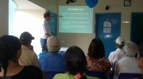 Unidades de saúde de Sacramento realizam atividades do Novembro Azul