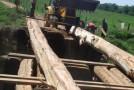 Prefeitura de Serra do Salitre reforma ponte na zona rural