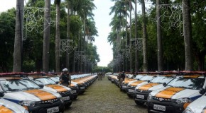 Reforço da frota da Polícia Militar beneficiará diretamente 247 municípios mineiros