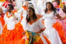 Congada Rainha da Luz realiza grande festa da cultura negra
