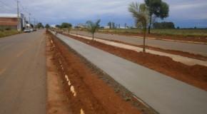Serra do Salitre ganha pista de caminhada