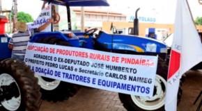 Comunidades rurais de Patos comemoram recebimento de patrulhas mecanizadas