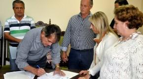 Assinadas ordens de serviço pelo prefeito de Araxá para diversas obras