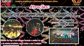 Minas Folia: Campos Altos prepara Carnaval de Rua 2016 com várias atrações