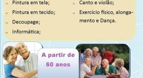 Abertas inscrições para oficinas gratuitas no Centro Julio Dário, em Araxá