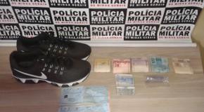 PM prende acusado de vários roubos em estabelecimentos comerciais de Araxá