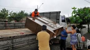 PMA retira moradores de áreas de risco no Setor Norte da cidade