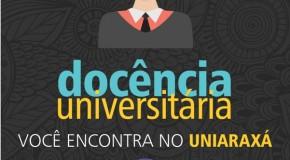 Cursos de Pós-Graduação estão com inscrições abertas no Uniaraxá