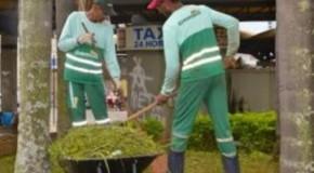 Patos de Minas realiza serviços em vários pontos da cidade