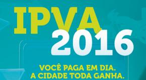 Terceira parcela do IPVA já está vencendo e pode ser paga