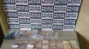 Acusados de tráfico de drogas no bairro Max Neumann detidos pela PM