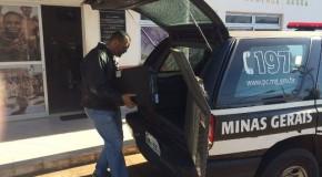 PC de Araxá apreende materiais adquiridos com dinheiro público na Coafro
