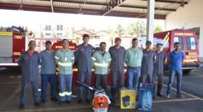 Bombeiros de Araxá recebem nova tecnologia para combate à incêndios florestais