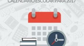 Secretaria de Estado de Educação publica Calendário Escolar para 2017