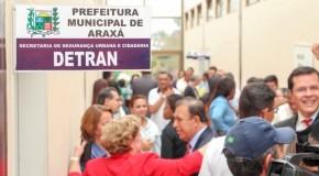 Prefeitura de Araxá sede sala para provas do Detran