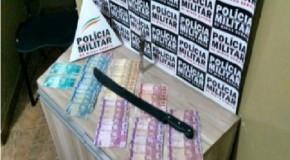 Acusados de roubo em posto de combustíveis presos pela PM