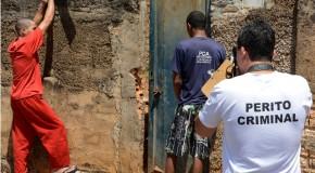 PC reconstitui homicídio de mulher de 36 anos, ocorrido em Campos Altos
