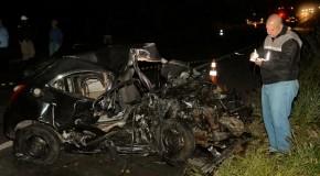Cinco pessoas morrem em acidentes, no fim de semana, nas rodovias da região