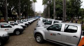 Unidades do IEF no Triângulo, Centro-Oeste e Alto Paranaíba recebem veículos