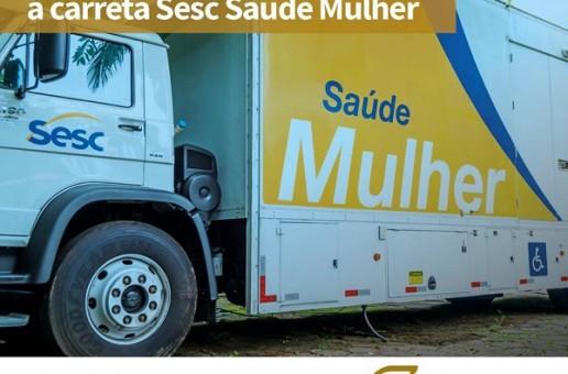 Carreta Sesc Saúde Mulher chega a Araxá dia 24 com vários serviços