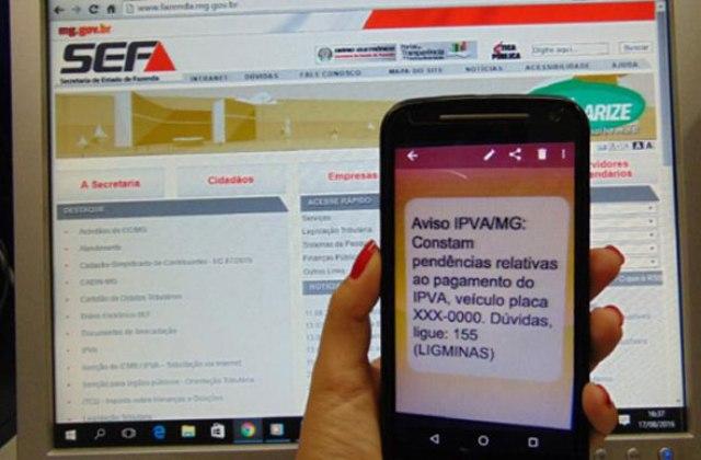 Image result for mensagem de texto ipva