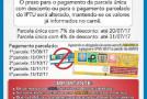 Cota única do IPTU em Patos de Minas, com 7% de desconto vence no próximo dia 20