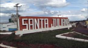 Acusados de tráfico e porte de arma são detidos na cidade de Santa Juliana