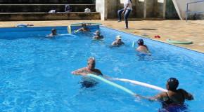 Núcleo de Apoio à Família de Ibiá oferece aulas de hidroginástica