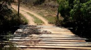 Mais uma ponte construída na Zona Rural de Tapira