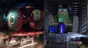 Em ação conjunta, PM e PRF prendem acusados de furto em fazenda de Ibiá