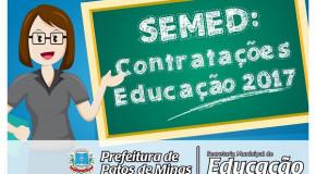 Educação de Patos de Minas publica edital para contratação de estagiários