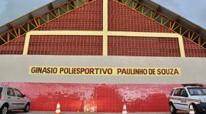 Araxá ganha novo ginásio poliesportivo, localizado no Bairro Jardim Natalia