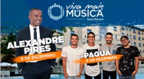 Alexandre Pires e Banda Paquá se apresentam em Araxá nos dias 08 e 09 de dezembro