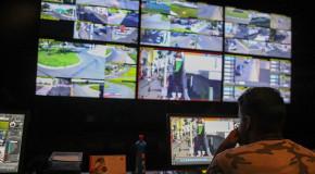 Central de Videomonitoramento, em um ano de instalação, contribui para redução de cerca de 50% dos roubos na cidade