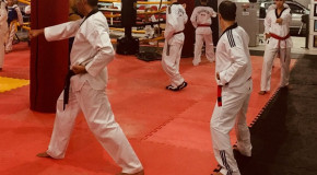 Atletas de Araxá participam de Exame de Faixas de Taekwondo, em BH