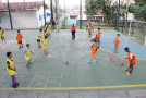Escolinha de Esportes Especializados promove interação entre pais e alunos