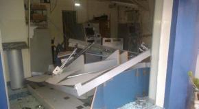 Assaltantes de banco trocam tiros com Polícia Militar em Conquista