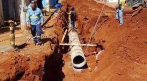 Começa construção da nova rede de drenagem pluvial da Rua Ataualpa Maciel, em Patos