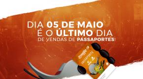 Venda de passaporte para a Fenamilho 2018 termina dia 05 de maio