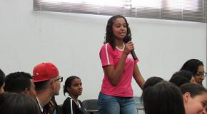 Câmara recebe alunos da Escola Estadual Vasco Santos