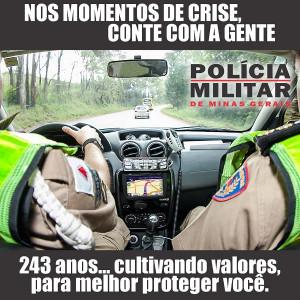 Arte: Polícia Militar