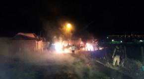 Ônibus, pastagens e casa abandonada são incendiados em Sacramento; PM envia nota oficial sobre ataques em Araxá