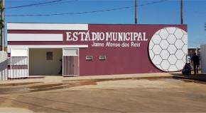 Estádio Jaime Afonso dos Reis, em Perdizes, recebe melhorias