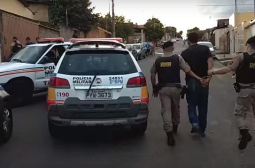 Acusados de latrocínio no Norte de Minas são presos em Araxá