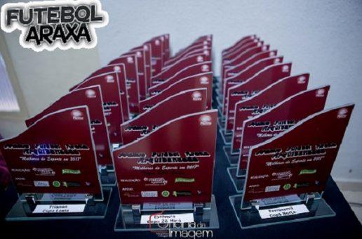 Prêmio Futebol Araxá acontece no próximo dia 25