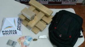 Acusados de tráfico presos em Pedrinópolis